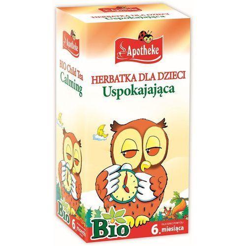 OKAZJA - Apotheke (herbatki dla dzieci, dorosłych, błonnik Herbata dla dzieci uspokajająca bio 20x1,5g apotheke