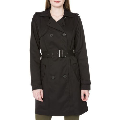 Vila Three Trench Coat Czarny S (5710638581585)