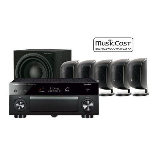 Yamaha MusicCast RX-A1080 + 5 x M-1 + ASW 610
