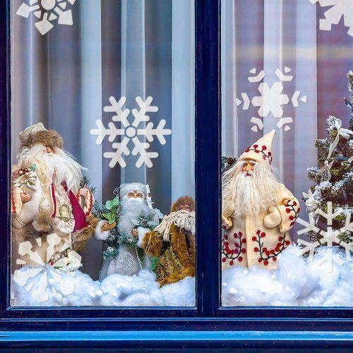 Szablon wielokrotny do sztucznego śniegu // śnieżynki marki Nakleo