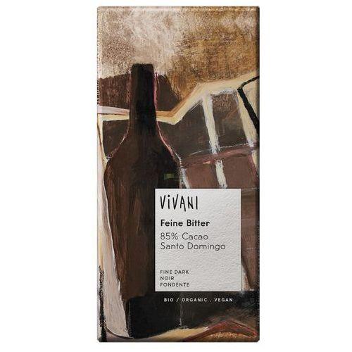 Vivani : czekolada gorzka 85% kakao bio - 100 g (4044889000054)