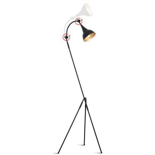 Aldex Lampa stojąca podłogowa metalowa industrialna piko i 1x60w e27 czarna 733a1