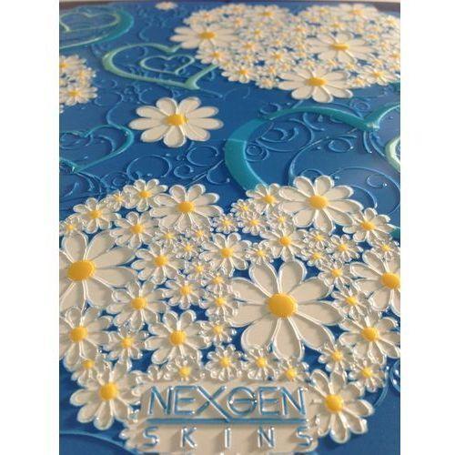 Nexgen Skins - Zestaw skórek na obudowę z efektem 3D iPad 2/3/4 (Hearts and Daisies 3D), IPAD40030