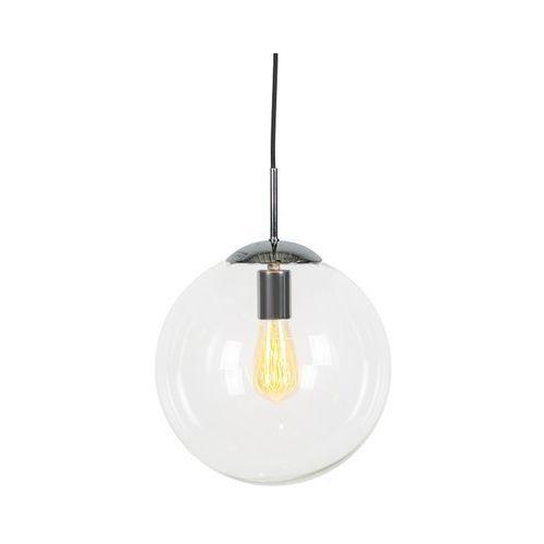 Lampa wisząca chrom przezroczyste szkło 30cm - ball marki Qazqa