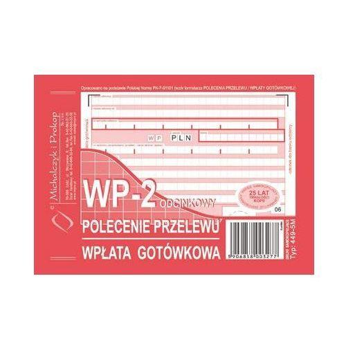 Polecenie przelewu a6 2-odcinki, miękkie (o+1k) - g0352 marki Michalczyk i prokop