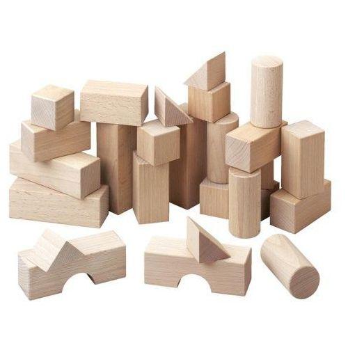 Haba  001071 klocki drewniane: średni zestaw (4010168010717)
