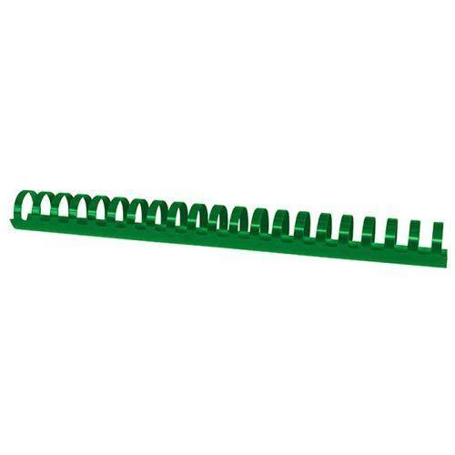 Office products Grzbiety do bindowania , a4, 28,5mm (270 kartek), 50 szt., zielone (5901503684542)