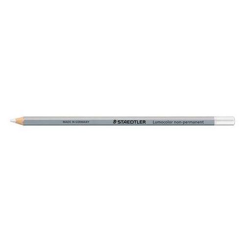 Staedtler ołówek glasochrom na gladkie powierzchnie, wodoodporny, biały