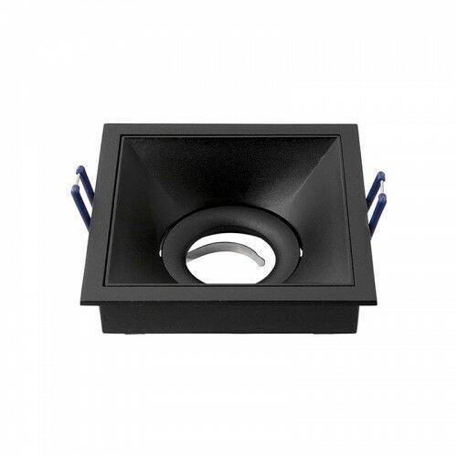 CROSTI VIEDO Czarny szer. 10,6cm. GU10 Home&Decor Oczko sufitowe OXYLED 459208