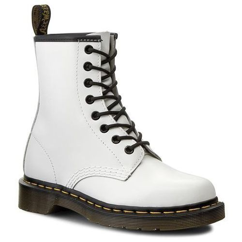 Glany DR. MARTENS - 1460 10072100 White, kolor biały