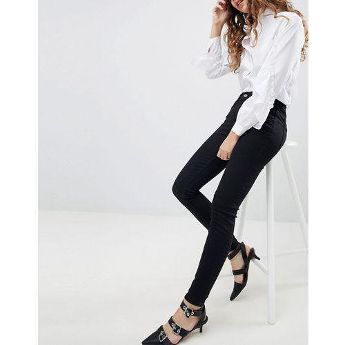 Miss Selfridge Push Up Skinny Jeans - Black