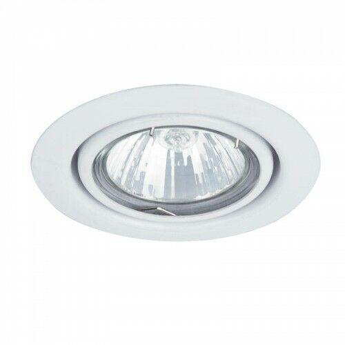 Oczko lampa sufitowa oprawa wpuszczana Rabalux Spot relight 1X50W GU 5.3 biały 1091