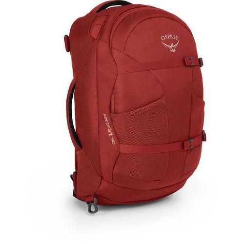 farpoint 40 backpack m/l, jasper red m/l 2020 plecaki turystyczne marki Osprey