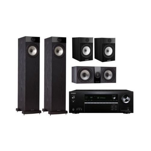 Onkyo Kino domowe tx-sr494b + fyne audio f302 czarny (2903974099750)