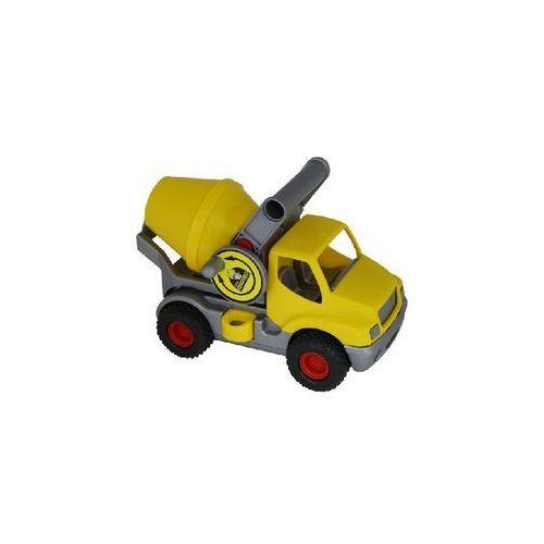ConsTruck, samochód-betoniarka, żółty - produkt z kategorii- Betoniarki zabawki