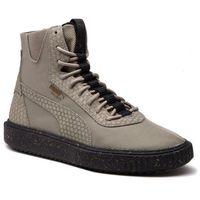 Puma Sneakersy - breaker hi blocked 366989 01 elphantskin/pblk/elphantskin