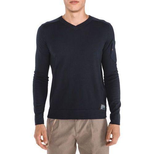 Tom Tailor Sweter Niebieski M (4062105228082)