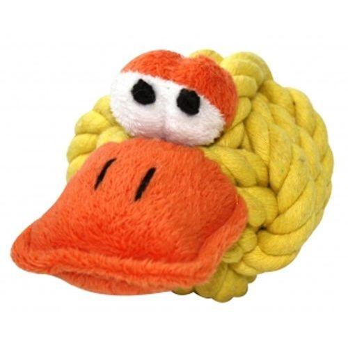 Piszcząca kaczka - wytrzymała zabawka dla psów od marki Happypet