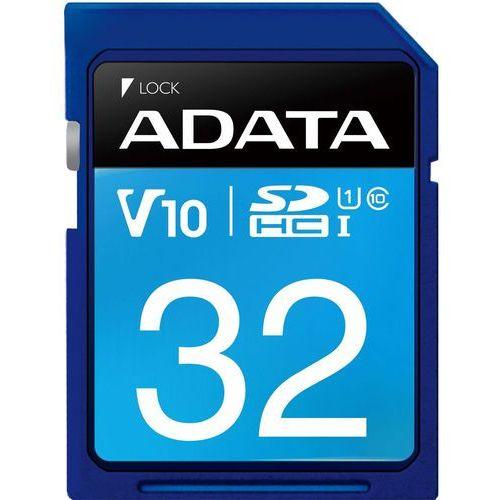 Karta pamięci ADATA SDHC 32GB Class 10 (ASDH32GUICL10-R) Darmowy odbiór w 21 miastach!