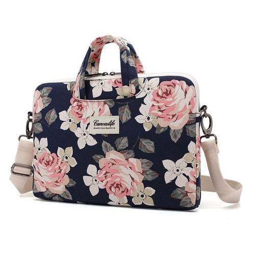 Torba briefcase macbook pro 15 navy rose marki Canvaslife