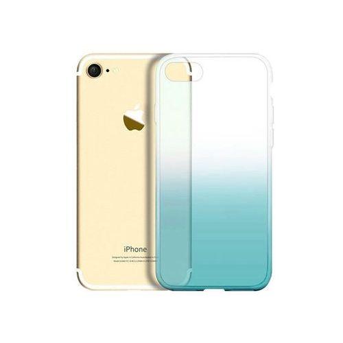 Etui ombre case apple iphone 7 / 8 zielone + szkło - zielony marki Alogy
