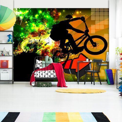 Fototapeta - rowerowe ewolucje marki Artgeist