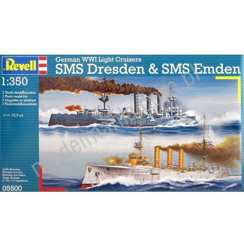 German WWI Light Cruisers SMS - Revell (4009803886954)