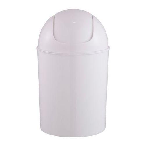Kosz łazienkowy plastikowy Cooke&Lewis Palmi 5 l biały, 710130