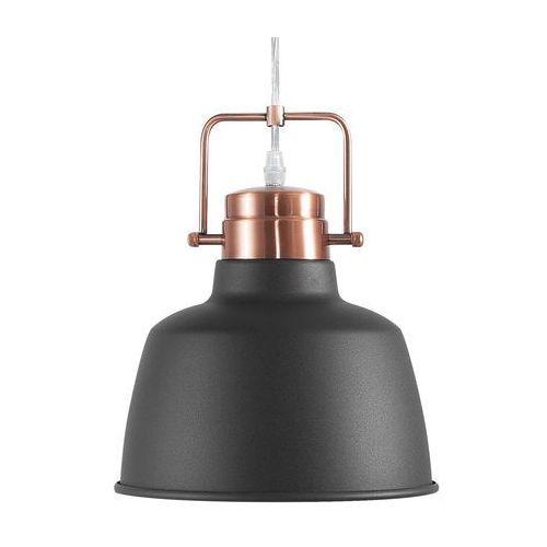 Lampa wisząca czarno-miedziana NARMADA (4260586352832)