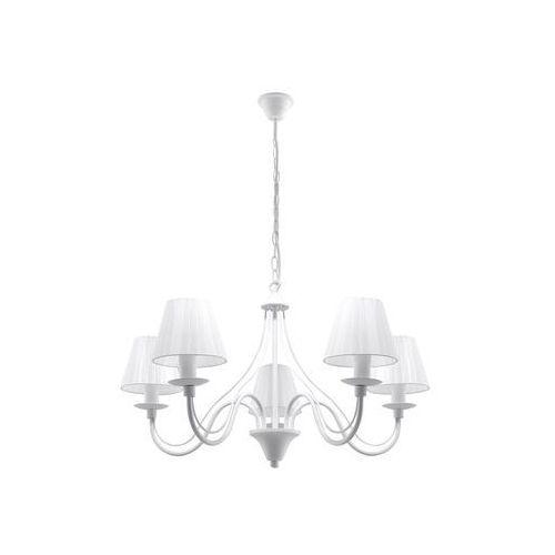 Sollux minerwa 5 sl.0559 lampa wisząca z abażurami (5903282705586)