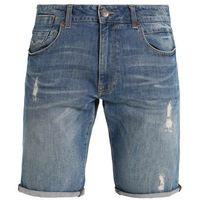 Petrol Industries BLIZZARD Szorty jeansowe coral bay, bawełna