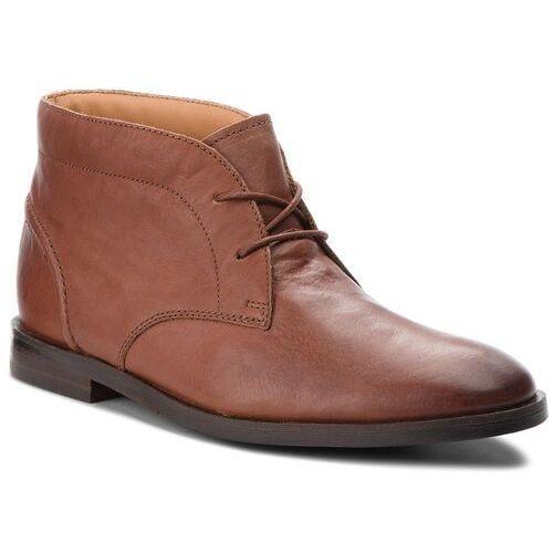 Trzewiki CLARKS - Glide Chukka 261354297 British Tan Leather