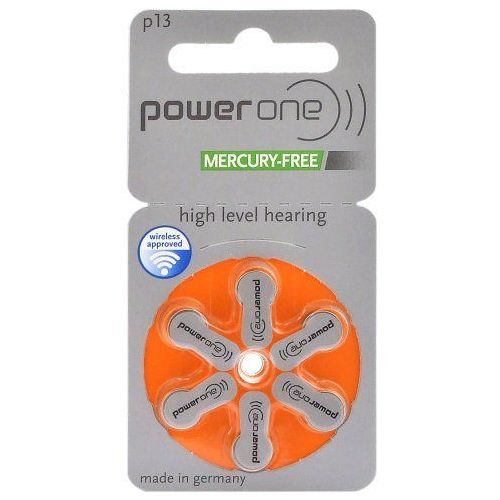 Varta 6 x baterie do aparatów słuchowych power one 13 mf (4043752177411)