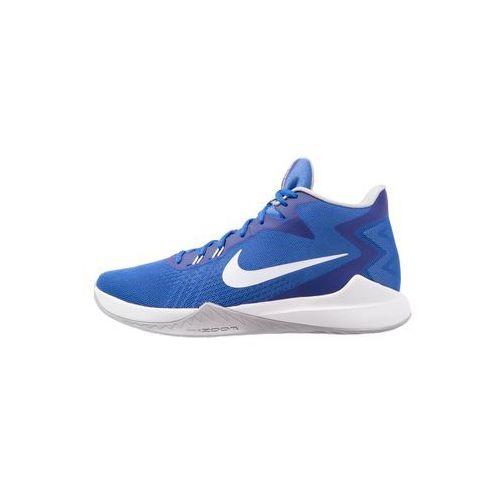 Nike Performance ZOOM EVIDENCE Obuwie do koszykówki game royal/white/wolf grey (0886548265930)