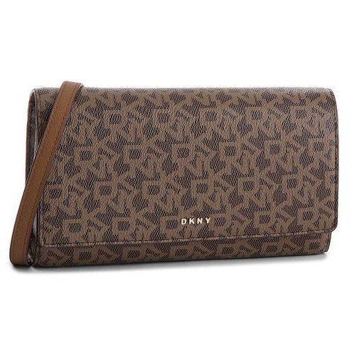 Torebka DKNY - Bryant Wallet On String R835J622 Mocha Logo-Vic 9MV