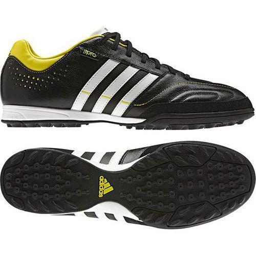 Buty piłkarskie 11 nova trx tf q23836 czarno-żółte marki Adidas