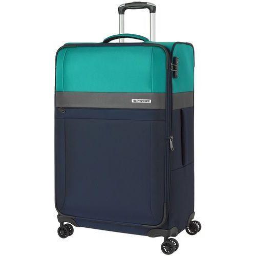 Travelite stream walizka duża poszerzana 76 cm / granatowy - granatowy