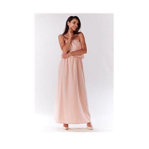 Sukienka Model M135 Powder Pink, kolor różowy