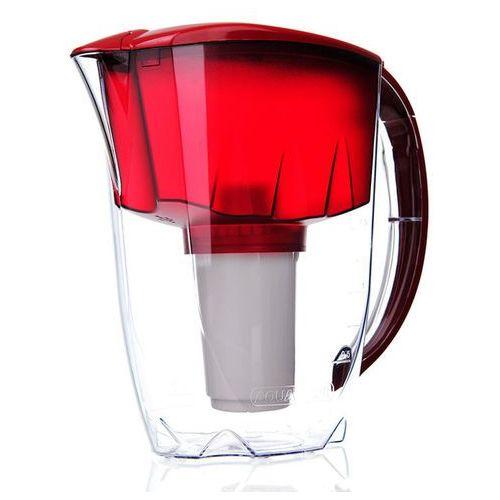 Dzbanek do wody Aquaphor PRESTIGE Czerwony- 2,8 l + filtr B100-5 (4744131010557)
