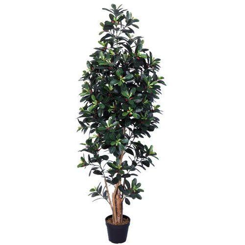 Greentree Sztuczne drzewo drzewko kamelia 150cm kwiaty