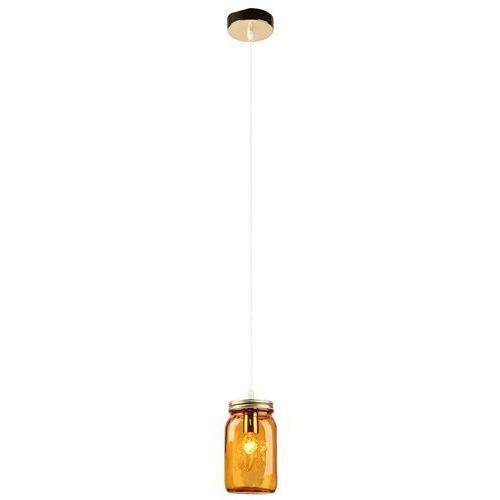 Lampa wisząca jars 31-42880 szklana oprawa zwis słoik pomarańczowy marki Candellux