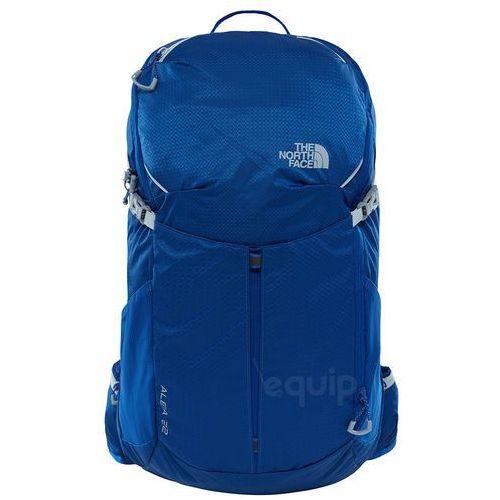 Plecak turystyczny aleia 22 - solidate blue/high rise grey marki The north face
