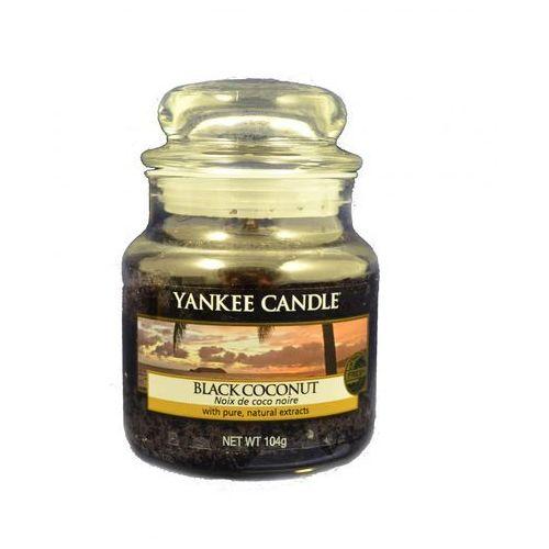 Yankee home Świeca yankee słoik mały black coconut - ysmbc2 (5038580013436)