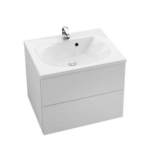 Ravak Rosa II szafka 76 cm podumywalkowa wisząca biały połysk/biały połysk X000001293 (8592626041786)