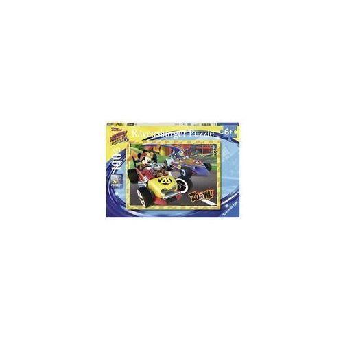 Puzzle Mickey Raźni rajdowcy 100