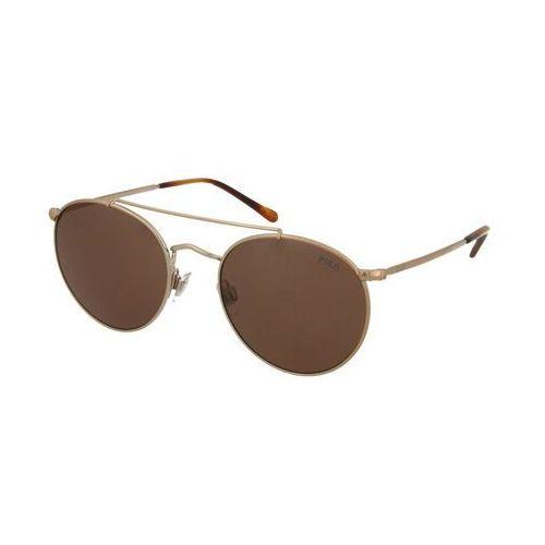 okulary przeciwsłoneczne brązowy / brąz marki Polo ralph lauren