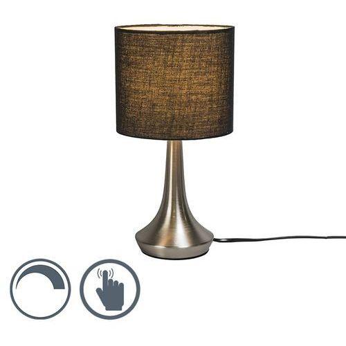Lampa stołowa Milo 1 okrągła czarna