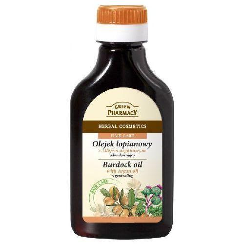 Green pharmacy  hair care argan oil olejek łopianowy do włosów o działaniu regenerującym 100 ml (5904567051664)