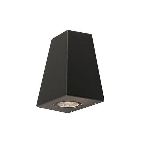 Kinkiet Nowodvorski Lamar 9553 lampa ścienna ogrodowa 2X10W GU10 IP54 grafit, 004047-009210