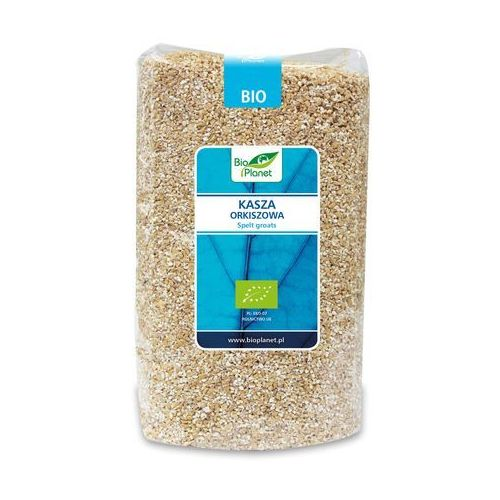 Bio planet - seria niebieska (ryże, kasze, ziarna) Kasza orkiszowa bio 1 kg - bio planet